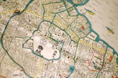 江戸の古地図の画像