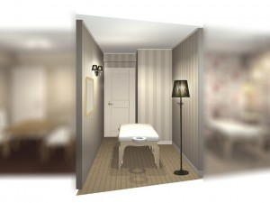 7Bの完成イメージCG(ベッド)