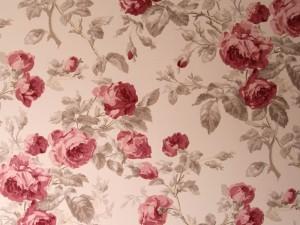 小花柄プリントの壁紙画像