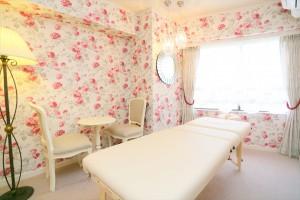 703号室 ベッド