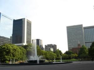 大都会の日比谷公園