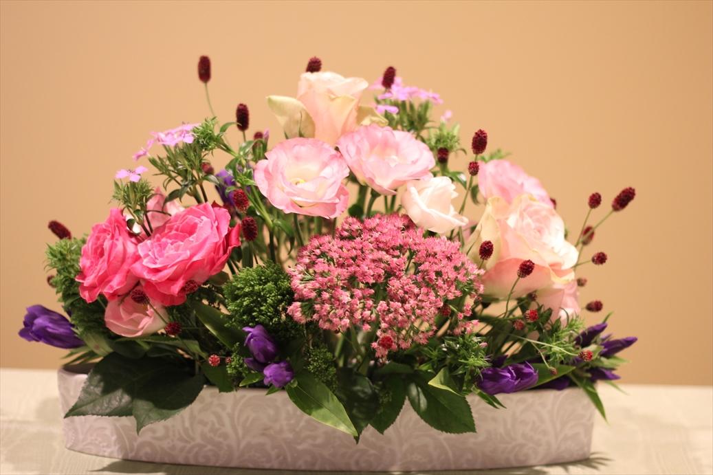 秋を彩る華やかなお花