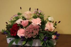 セミナー前半のお花の写真