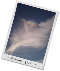 空の写真_彩雲