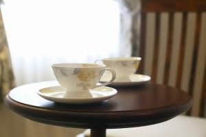 ローラアシュレイのカップ&ソーサー