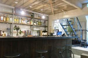 ヴィンテージの香りが漂う北出食堂の店内風景