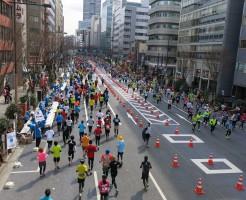 「東京マラソン2014」東日本橋からレポート