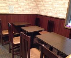 安くておいしいお蕎麦屋さん「東京バッソ」の店内風景