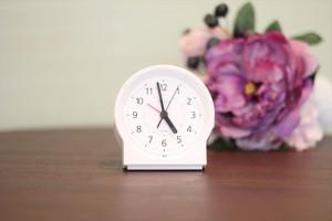 レンタルが開始された置時計。