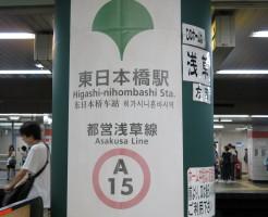 都営浅草線:東日本橋駅