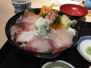 海鮮丼1000円