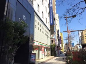 コンフォートホテル東日本橋外観