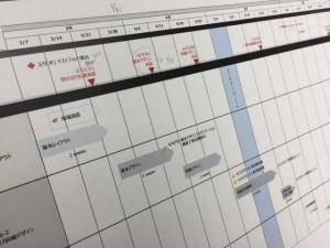 施工日程表