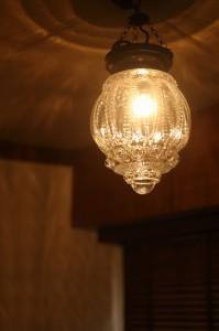 402号室の照明