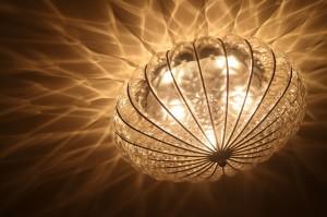 701号室中央の照明