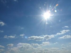 夏をイメージした空