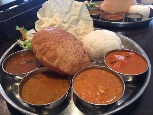 南インド定食