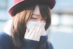 マスクで予防