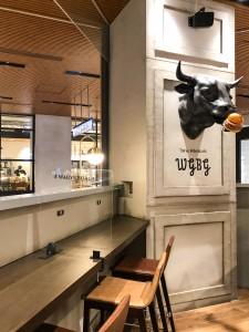 Wagyu Burger店内写真
